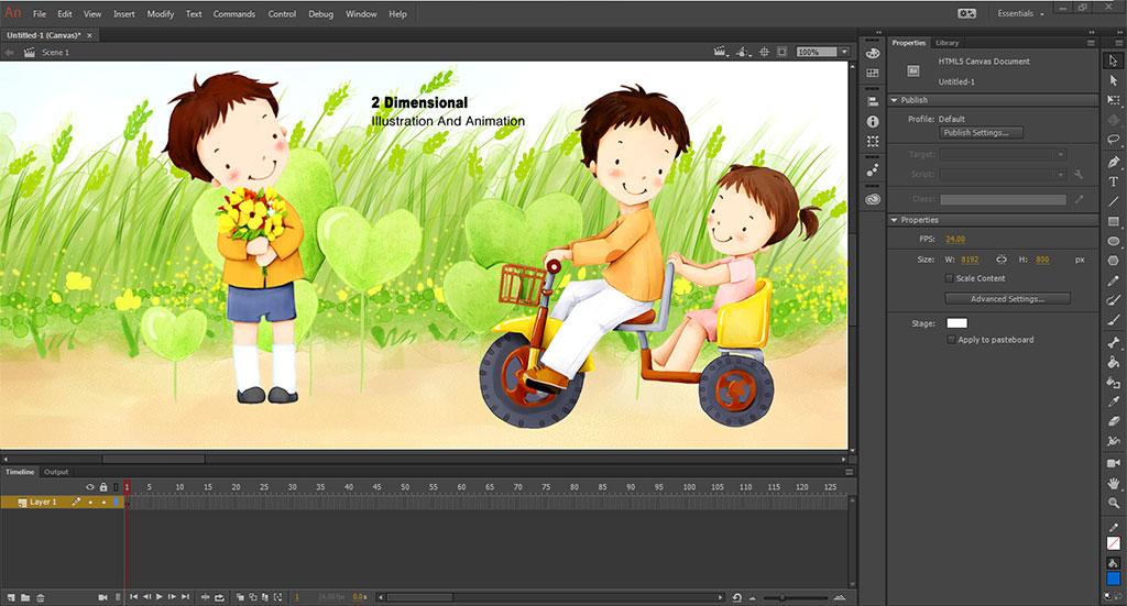 Animation courses Singapore | 2D Animation courses